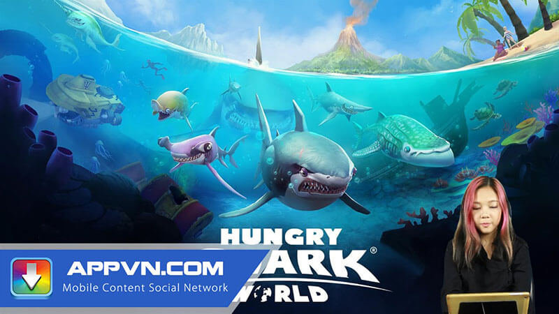GIỚI THIỆU GAME HUNGRY SHARK APPVN