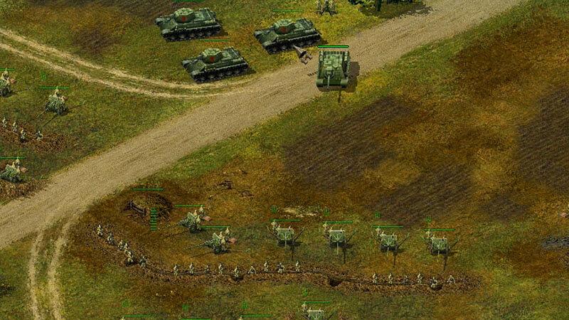 giao dien Blitzkrieg game
