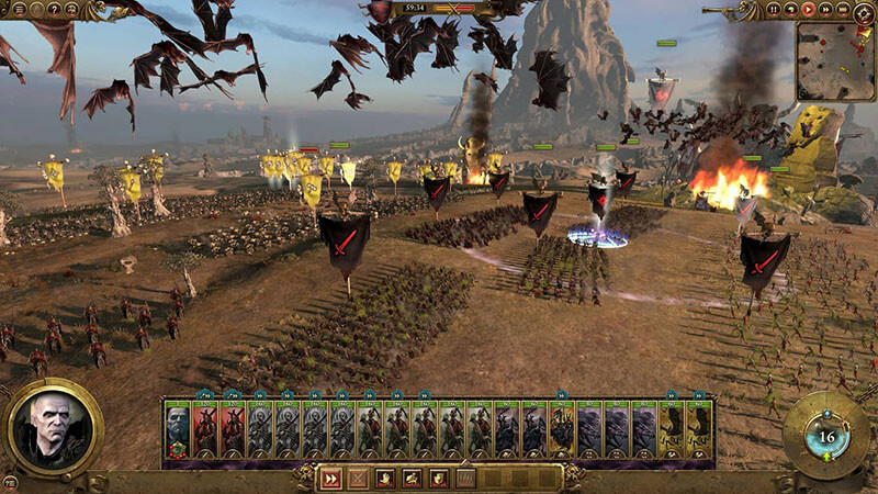 Giao diện Series Total War